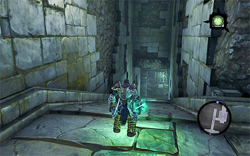 Go back to where you landed after using the portals activated earlier - Weeping Crag - Additional Locations - Darksiders II - Game Guide and Walkthrough