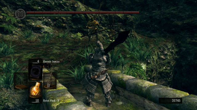 You can approach the forest from two different sides - Royal Wood - Artorias Of The Abyss - walkthrough - Dark Souls - Game Guide and Walkthrough