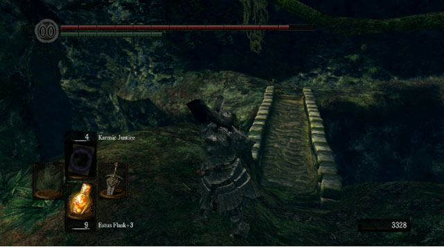 Another bridge - Royal Wood - Artorias Of The Abyss - walkthrough - Dark Souls - Game Guide and Walkthrough