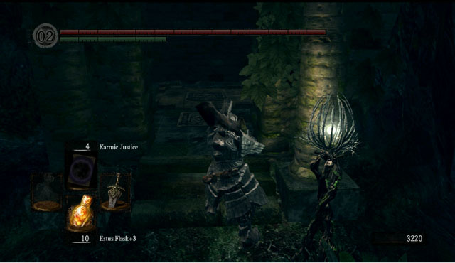 Unlock the shortcut - Royal Wood - Artorias Of The Abyss - walkthrough - Dark Souls - Game Guide and Walkthrough