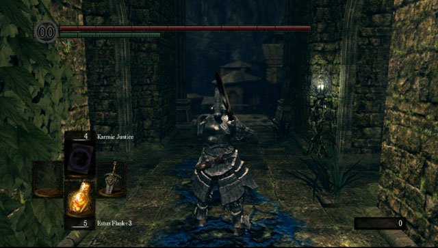 There are two pathways at the exit - Royal Wood - Artorias Of The Abyss - walkthrough - Dark Souls - Game Guide and Walkthrough