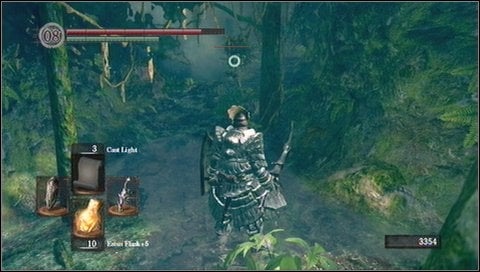 From this place you can go to the right to Darkroot Basin - Darkroot Garden - p. 1 - Walkthrough - Dark Souls - Game Guide and Walkthrough