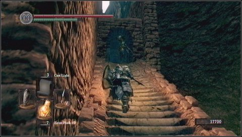 In the chamber you'll find a chest with Ring of Steel Protection - Sen's Fortress - p. 2 - Walkthrough - Dark Souls - Game Guide and Walkthrough