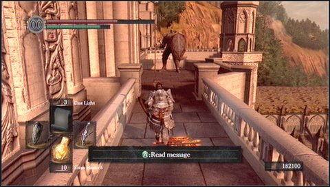 Inside the building you'll encounter two more knights - they are guarding the chest with Demon Titanite - Anor Londo - p. 1 - Walkthrough - Dark Souls - Game Guide and Walkthrough