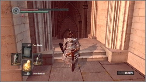 Light the fire once you get down - Anor Londo - p. 1 - Walkthrough - Dark Souls - Game Guide and Walkthrough