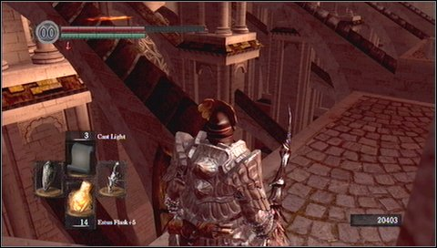 Climb up and watch yourself not to fall down - Anor Londo - p. 1 - Walkthrough - Dark Souls - Game Guide and Walkthrough