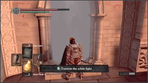 how to open the painting anor londo