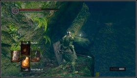 Darkroot Basin -> Darkroot Garden II | Walkthrough - Dark ... on firelink shrine map, dark souls world map, dark souls 2 map, dark gate map, crystal cave map, dark souls lost izalith map,