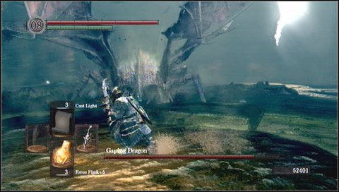 Attacks and weaknesses - Gaping Dragon - How to kill a boss - Dark Souls - Game Guide and Walkthrough