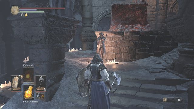 High Wall Of Lothric From The Bonfire Dark Souls Iii