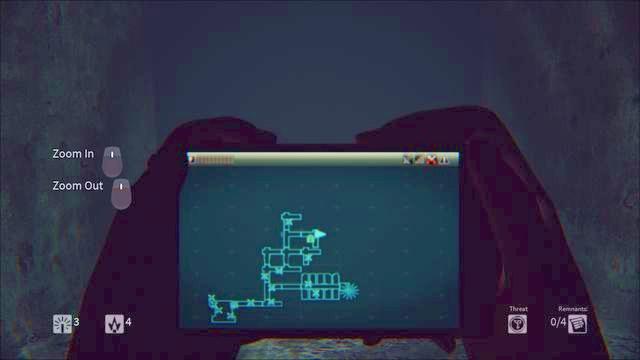 Mapa - no jogo dicas - Daylight - Guia de jogo e passo a passo