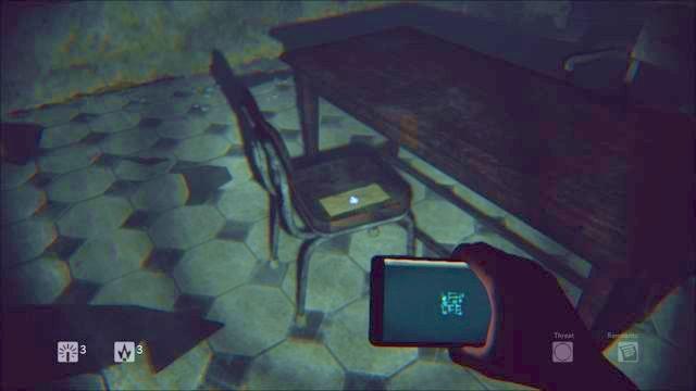 Carta sobre a cadeira - Nível 2 - Prisão - Storyline - Diurno - Guia do Jogo e Passo a passo