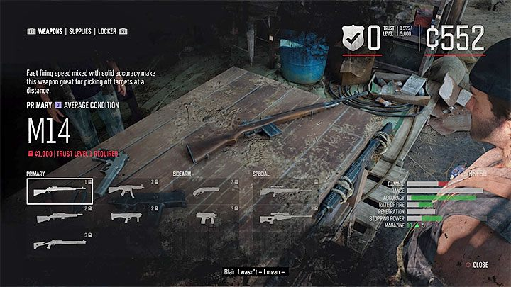 Best and unique weapons in Days Gone - Days Gone Guide