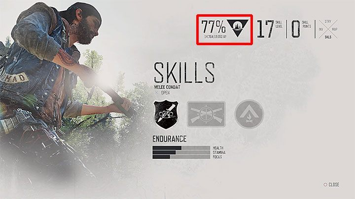 1 - Skills in Days Gone - Character progression - Days Gone Guide