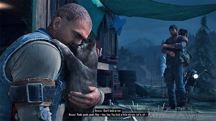 Can you pet the dog in Days Gone? - Days Gone Guide