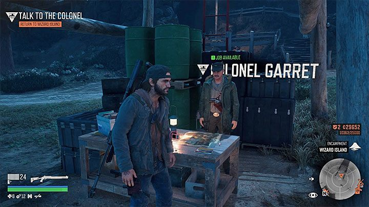 Most of the missions in Days Gone automatically appear in Deacons journal - Unlocking missions in Days Gone - Game basics - Days Gone Guide