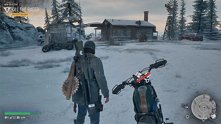 You encounter the second boss later on during the story campaign as Deacon reaches Crater Lake for the first time - How to kill the bear boss in the Lots of Sick People mission in Days Gone? - FAQ - Days Gone Guide