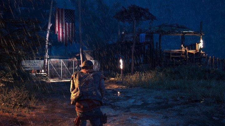 The Days Gone game is distinguished by changing weather conditions and a day and night cycle - Days Gone Guide