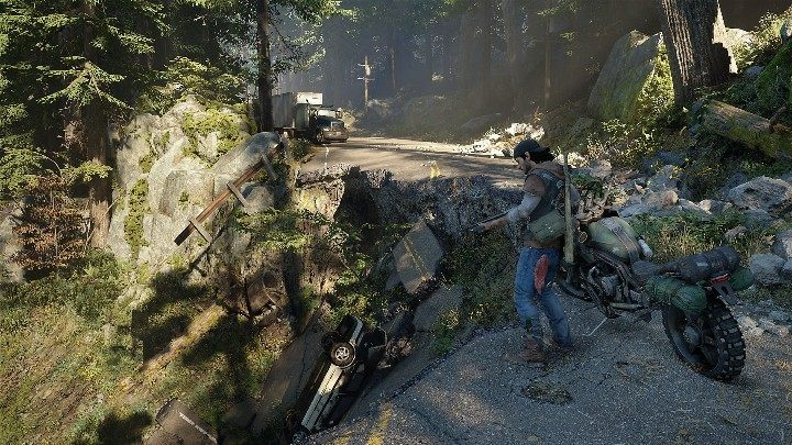 Deacons motorcycle is his only means of transport - Days Gone Guide