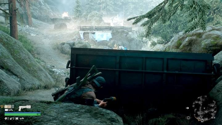 It is necessary to begin the elimination of enemies quietly, if you have such opportunity. - Type of activities in Days Gone - World Atlas - Days Gone Guide
