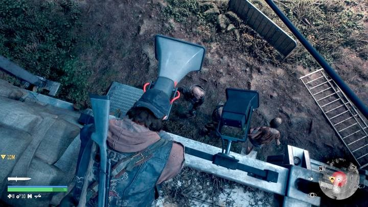 Disassemble megaphones, do not attract the Freakrs - megaphones work even until the end of the game, if you dont disassemble them. - Type of activities in Days Gone - World Atlas - Days Gone Guide