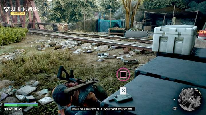 NERO Research Sites have a common feature with NERO Checkpoints: here you will find white boxes, and inside them an Injector, which permanently increases one of you main stats: stamina, health or focus - Type of activities in Days Gone - World Atlas - Days Gone Guide