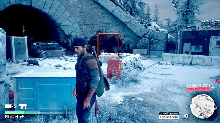 Capturing NERO Checkpoint (5b) can bring some problems - Map of important locations in Lost Lake - Lost Lake region maps - Days Gone Guide