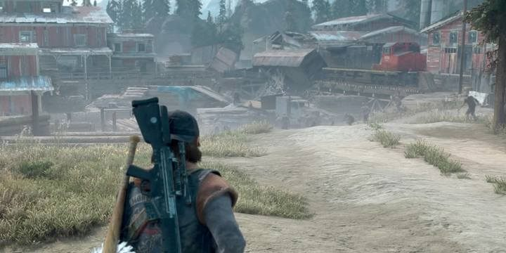 After clearing the NERO Checkpoint (5A), be sure to keep an eye on the Horde at the sawmill (6), which is one of the biggest in the game - Map of important locations in Lost Lake - Lost Lake region maps - Days Gone Guide