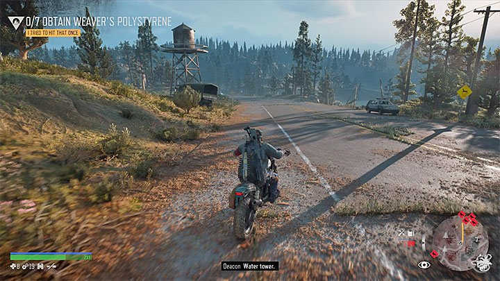 Highway 97 Map - Important Locations in Days gone - Days