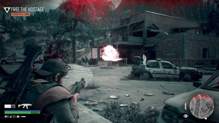 This mission would be very difficult to do quietly - better use weapons and explosives to wreak some havoc - Protecting the Weak | Days Gone Walkthrough - Main storyline - Days Gone Guide
