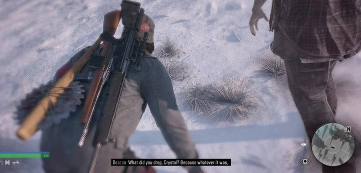 Explore the tracks on the snow - they will lead you to the top of the mountain. The enemy base is here. - Bounty Hunter | Days Gone Walkthrough - Main storyline - Days Gone Guide