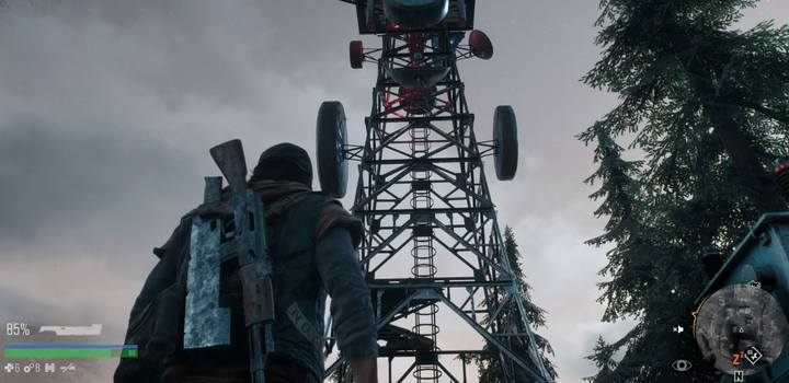 Climb the radio tower using a ladder - Hes my Brother | Days Gone Walkthrough - Main storyline - Days Gone Guide