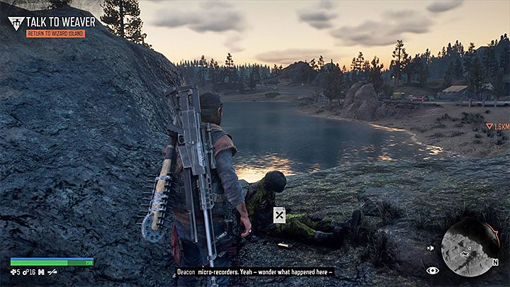 Complete both jumps and you will reach the helicopters wreck - Highway 97 Secrets Map in Days gone - Highway 97 region maps - Days Gone Guide