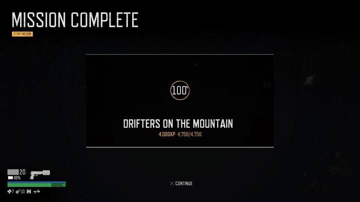Every mission reward you with experience points; the majority of them will also reward you with credits and Trust points in a given encampment. - List of all story missions of Days Gone - Main storyline - Days Gone Guide
