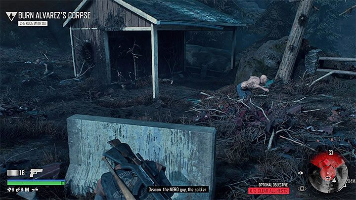 Deacon must find and set three nests on fire (use, e - Where can I find Pioneer Cemetery Infestation nests in Days Gone? - FAQ - Days Gone Guide