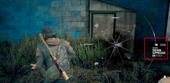Dont forget to attach or detach a silencer. - Sneaking in Days Gone - Game basics - Days Gone Guide