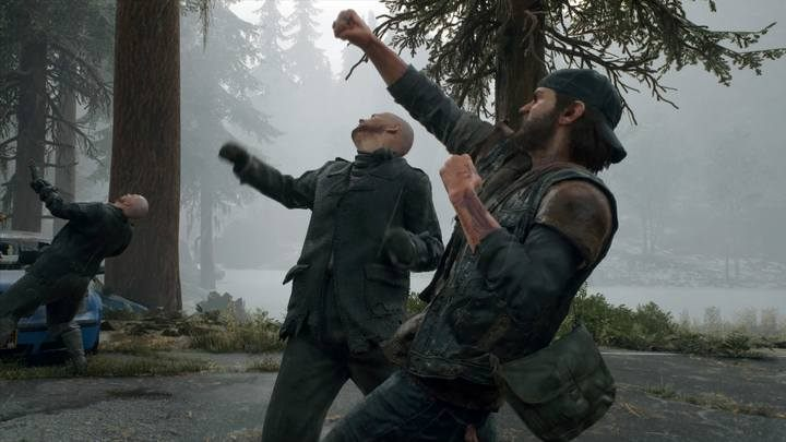 Later, Deacon will get access to a knife and other melee weapons. - Chasing Leon | Days Gone Walkthrough - Main storyline - Days Gone Guide