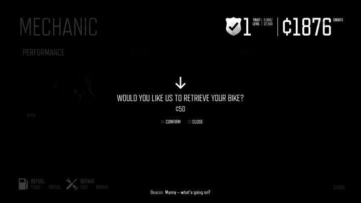 1 - How to retrieve a lost bike in Days Gone? - FAQ - Days Gone Guide