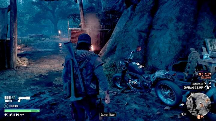 Your bike will spawn near the mechanic - that is after you pay him a lot. - How to retrieve a lost bike in Days Gone? - FAQ - Days Gone Guide