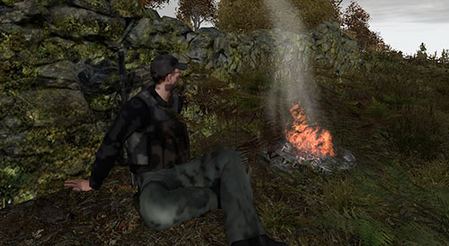 dayz how to use a heat pack