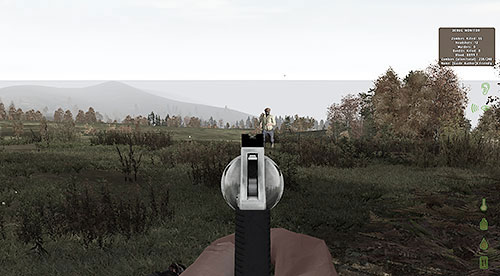 The more powerful your weapon is, the louder - Hints - Hints before you begin - DayZ - Game Guide and Walkthrough