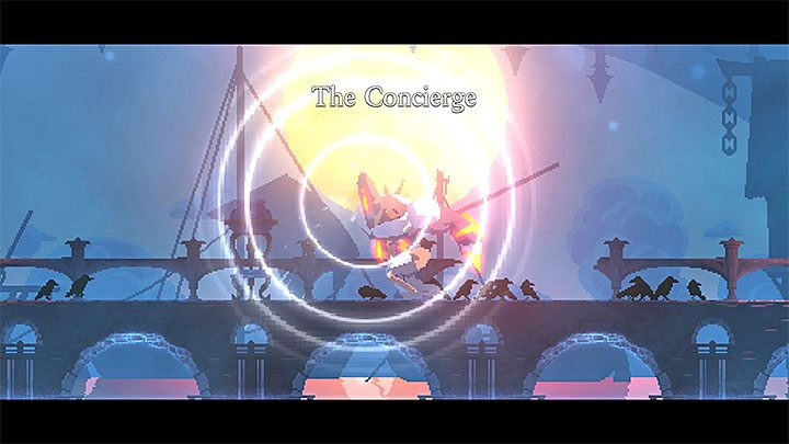 The Concierge is the first full-fledged boss in Dead Cells - The Concierge Boss in Dead Cells - Bosses - Dead Cells Game Guide