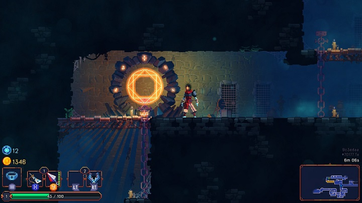 The easiest location available in the game - 1. The Prisoners Cells | Game world - Game world - Dead Cells Game Guide
