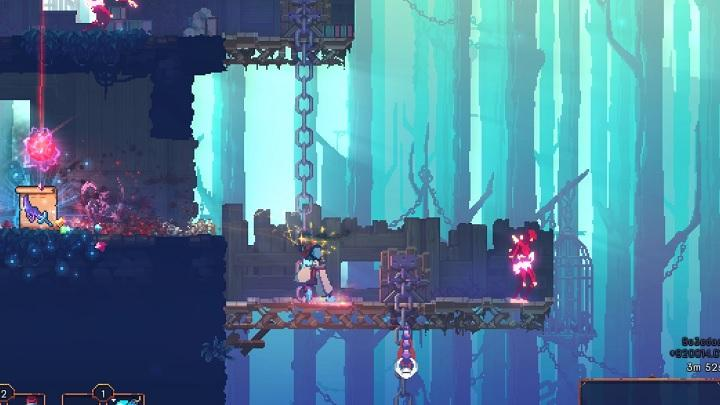 The Promenade of the Condemned is full of smaller and larger fortifications - The Promenade of the Condemned | Game world - Game world - Dead Cells Game Guide