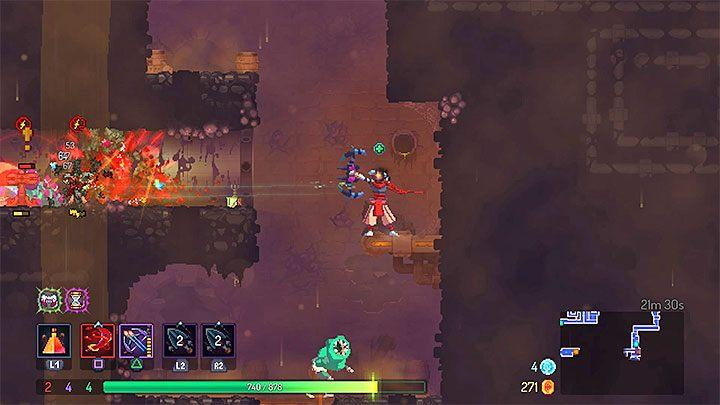 Dead Cells does not allow you to come up with the perfect build, as each playthrough is different and players find different items every time - Dead Cells Game Guide