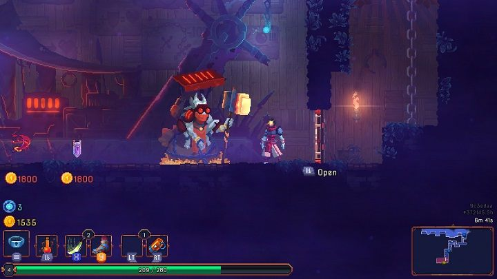 Same as with treasure chests, each level will feature at least one shop - Gameplay basics | How to start? - How to start? - Dead Cells Game Guide