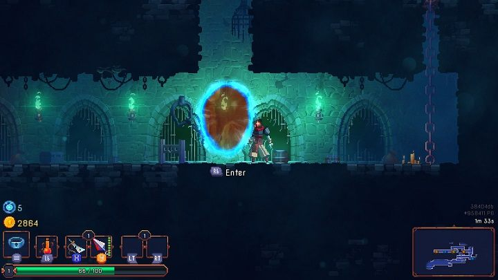 Some rare rooms will offer additional benefits during a particular run - Gameplay basics | How to start? - How to start? - Dead Cells Game Guide