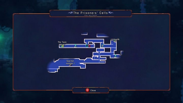 In this case I mean the main location map, not its smaller version, which you may seen in the upper right corner - Things you shouldnt do | How to start? - How to start? - Dead Cells Game Guide