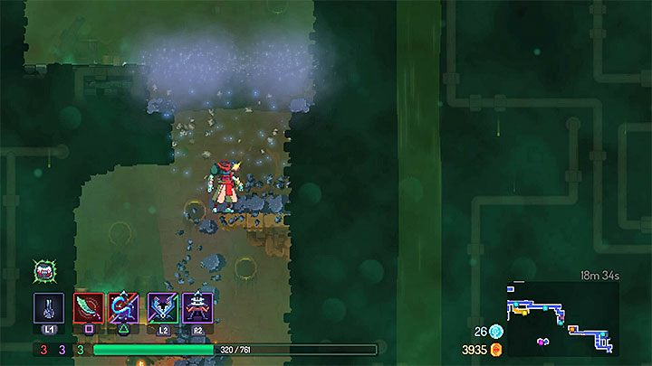 1 - The Ancient Sewers level in Dead Cell - Game world - Dead Cells Game Guide