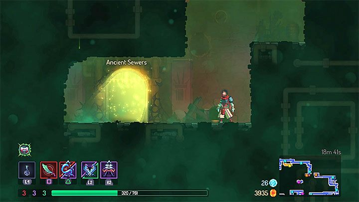 Ancient Sewers cant be accessed right away - The Ancient Sewers level in Dead Cell - Game world - Dead Cells Game Guide
